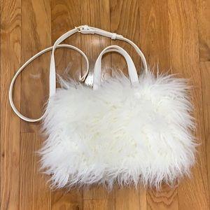 Long Lamb Hair Bag